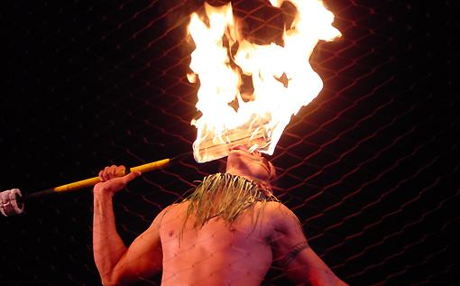 Royal Kona Luau Fire Dancer