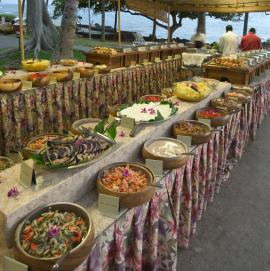 Royal Kona Luau Food